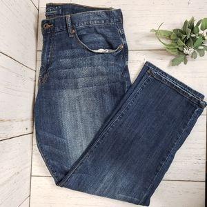 Lucky Brand men's 221 straight jeans sz 38